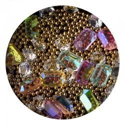 MIX Strass,perle e cristali -6