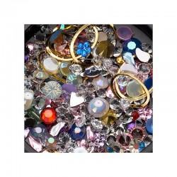 MIX Strass,perle e cristali...