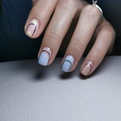 Voglia di una nailart minimal ma d'effetto? 💙  Ecco un'ispirazione grafica facilissima da realizzare.  🔹 Nailart by @deedee.nails  ____________________   𝐎𝐅𝐅𝐈𝐂𝐈𝐀𝐋 𝐒𝐇𝐎𝐏 ✨ www.cupio.it ✨  #Cupio #CupioNails #Cupiolover #instanails #nailaddict #naillover #nailstagram #minimalnailart #decor #design #minimalnails #minimal  #nailsofinstagram #nailsoftheday #nails2inspire #nailart #nailstyle #unghie #unghiegel #ricostruzioneunghie #manicure #nailtechnician #nailtech