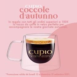 La super tazza da caffè #Cupio! ☕️💕Con doppia parete in vetro, resistente al calore e perfetta per accompagnare le tue giornate autunnali. Ricevila in regalo completando un ordine pari o superiore a 100€ da lunedì 13 a domenica 19 settembre. ___________________________  ✨  𝐒𝐇𝐎𝐏 𝐎𝐍𝐋𝐈𝐍𝐄 ✨  Tap sul post o link in bio  #Cupio #CupioCup #Cupiocolors #Cupiohome #Cupiolover #makeupitaly #makeupartistitalia #makeuplooks #nailartitalia #ricostruzionegel #nailartitaly #unghiegel #unghiemania #smaltosemipermanente #ricostruzioneunghie #gelcolors