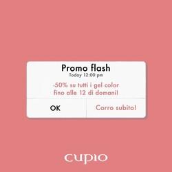 Hai già approfittato della nostra 𝐏𝐫𝐨𝐦𝐨 𝐟𝐥𝐚𝐬𝐡 𝟐𝟒 𝐨𝐫𝐞?🔥Tutti i gel color Cupio sono in offerta al 50% 😱 solo fino alle 12 di oggi!  Cosa aspetti?!?! ___________________________  ✨  𝐒𝐇𝐎𝐏 𝐎𝐍𝐋𝐈𝐍𝐄 ✨  Tap sul post o link in bio  #Cupio #Cupiocolors #Cupiosummer  #CupioNails #instasummer #nailpolish #instanails #naillover #nailsaddict #nailsoftheday #nails #nailart #simplenails #summernails #naildesign #nailfashion #nailstagram #unghiegel #ricostruzioneunghie  #backtowork